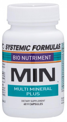 Min Multi Mineral Plus 60 Caps Systemic Formulas