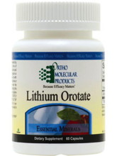 Lithium orotate for adhd