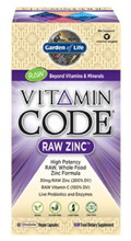 Vitamin Code Raw Zinc 60 Vcaps Garden Of Life