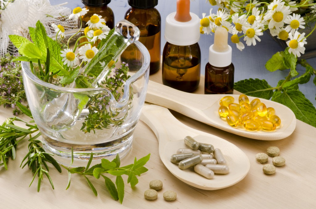 Essential oils and herbal supplements