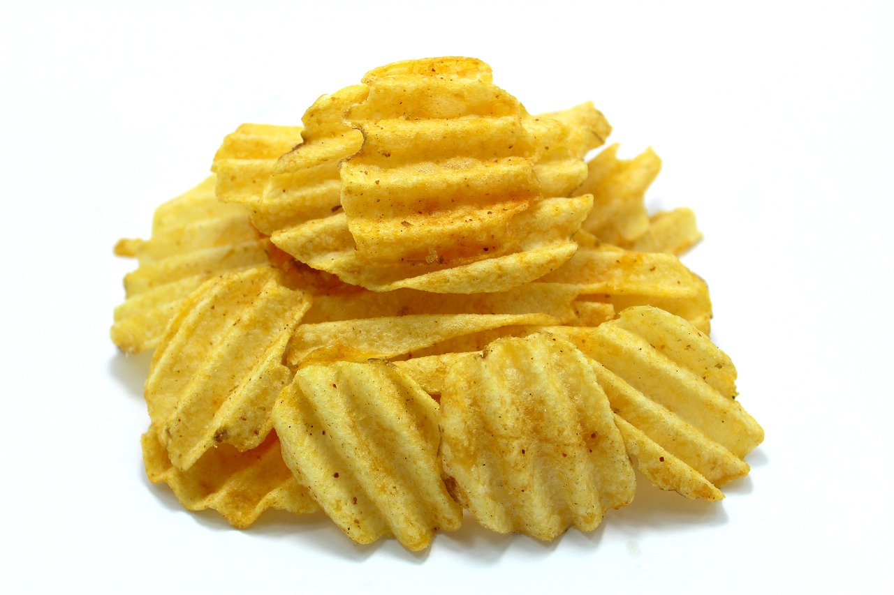 crispy potato fried chip