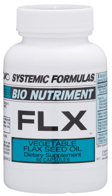FLX - Vegetable Flax Seed Oil 60 caps