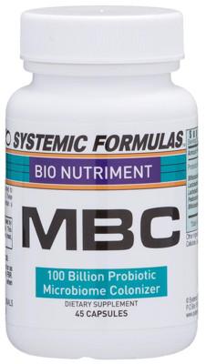 MBC - 100 Billion Probiotic Microbiome Colonizer 45 caps