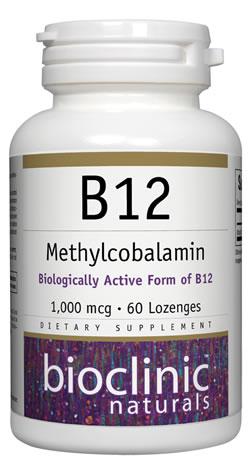 B12 Methylcobalamin 1000 mcg