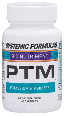PTM - Potassium Stabilizer 60 caps