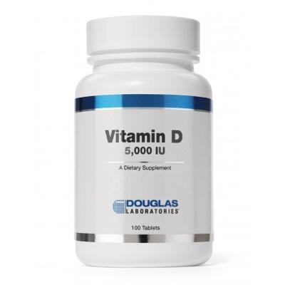 Vitamin D (5,000 I.U.) 100 tabs