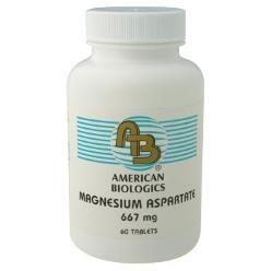 Magnesium Aspartate 667 mg 60 Tablets