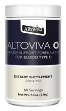 AltoViva O - Immune Support Formulated For Blood Type O