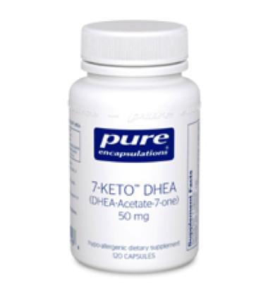 7-Keto DHEA 50 mg 120 vcaps