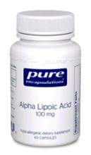 Alpha Lipoic Acid 100 mg 60 vcaps