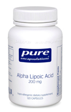Alpha Lipoic Acid 200 mg 60 vcaps