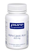 Alpha Lipoic Acid 400 mg 60 vcaps