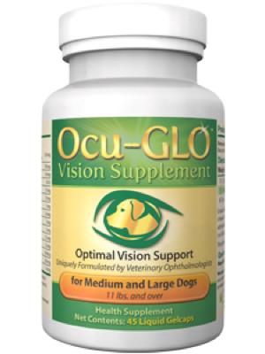 Ocu-GLO Med/Large liquid gelcaps