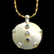 5047 Level 4: 14K Gold TriGem Shield