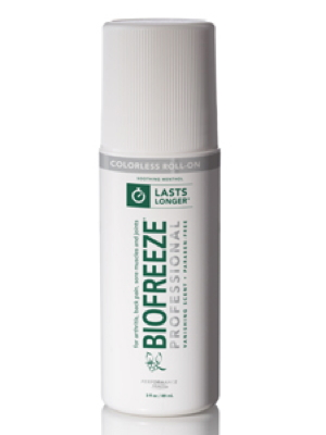 BioFreeze roll-on 3 oz