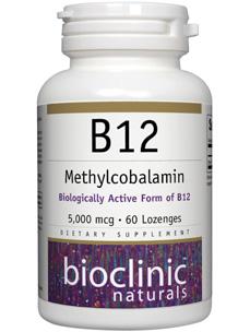 B12 Methylcobalamin 5000 mcg