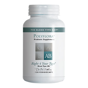 PolyFLORA AB (probiotic formula)  - 120 vcaps