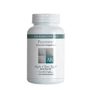 PolyVITE AB (multivitamin formula) - 120 vcaps