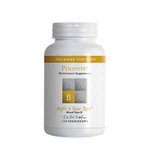PolyVITE B (multivitamin formula) - 120 vcaps