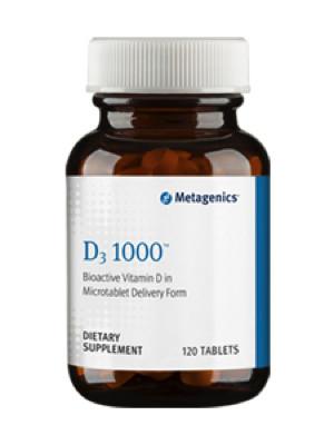 D-3 1000 IU 120 tabs