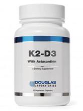 K2-D3 with Astaxanthin 30 Vegcaps