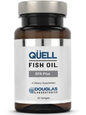 QUELL Fish Oil EFA Plus 60 softgels