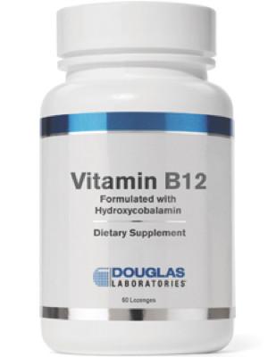 Vitamin B12 with Hydroxycobalamin 60 lozenges