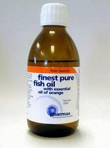 Finest Pure Fish Oil 200 ml