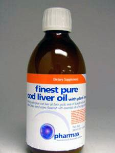 Finest Pure Cod Liver Oil w/plant sterols - 300 ml