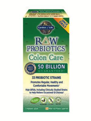 RAW Probiotics Colon Care 30 vcaps