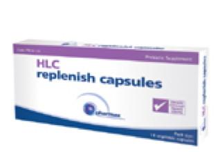 HLC replenish capsules 14 caps