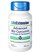 Advanced Bio-Curcumin with Ginger & Turmerones 30 Softgels