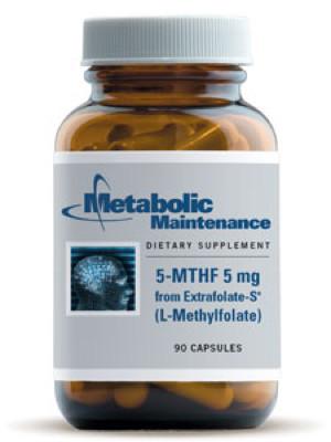 L-Methylfolate 5 mg  90 Caps