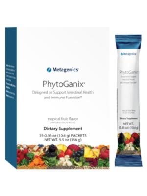 PhytoGanix Tropical Fruit Flavor 15 single servings