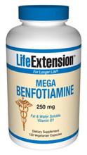 Mega Benfotiamine 250 mg 120 vcaps