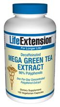 Mega Green Tea Extract decaffeinated 100 vcaps