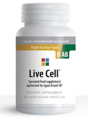 Live Cell B/AB 90 vcaps
