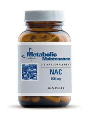 NAC 600 mg 60 caps