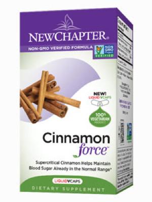 Cinnamon Force 30 liquid vegcaps
