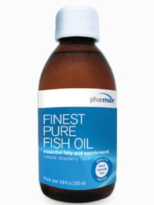 Finest Pure Fish Oil Strawberry 6.8 oz