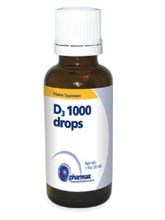 D3 1000 Drops 1 oz