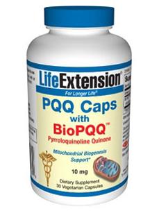 PQQ Caps w/ BioPQQ 10 mg 30 vcaps