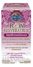 RAW Resveratrol 60 vcaps