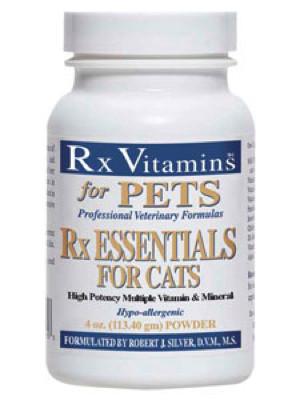 Rx Essentials for Cats 4 oz  powder