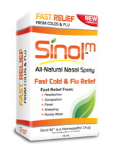 Sinol M Cold & Flu Relief 15 ml