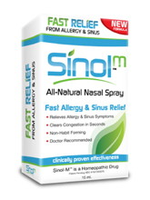 Sinol M Allergy & Sinus Relief 15 ml