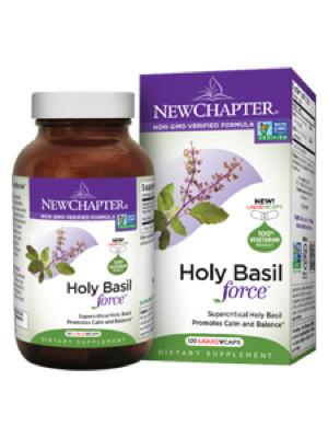 Holy Basil Force 120 liquid veg caps