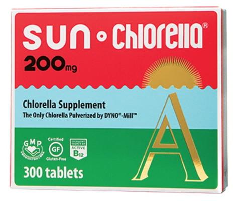 Sun Chlorella 200 mg