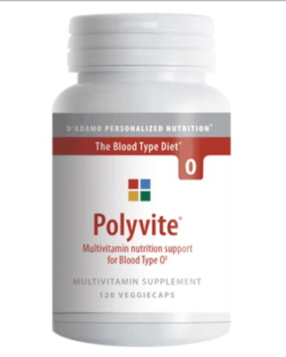 PolyVITE O (multivitamin formula) - 120 vcaps