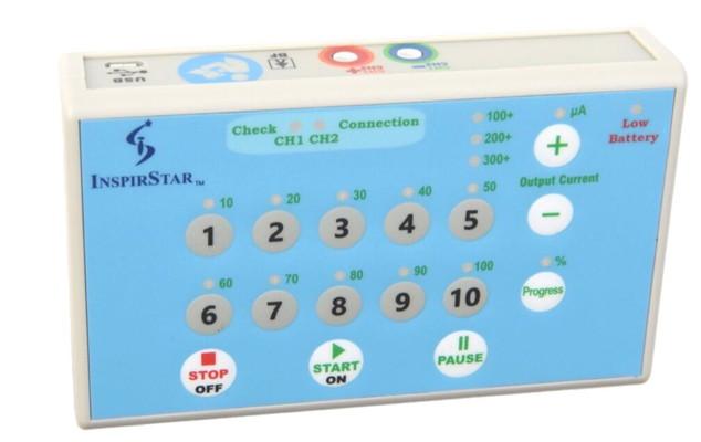 Inspirstar Microcurrent Stimulator - Programmed